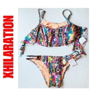 NYE SALE New Xhilaration Bikini Swimsuit Set Large